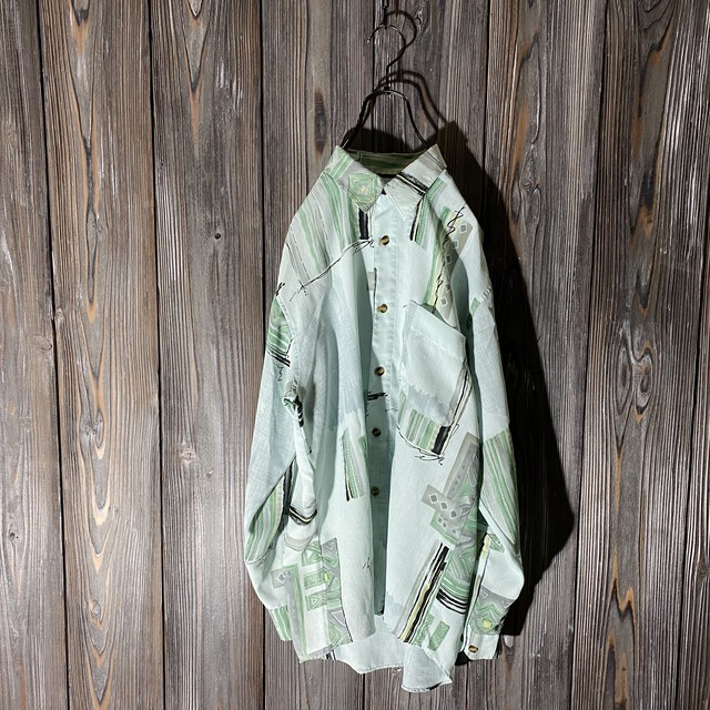 [used]pure color design shirt