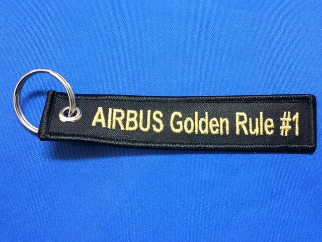 Fly,navigate and communicateキーホルダー/AIRBUS Golden Rule #1