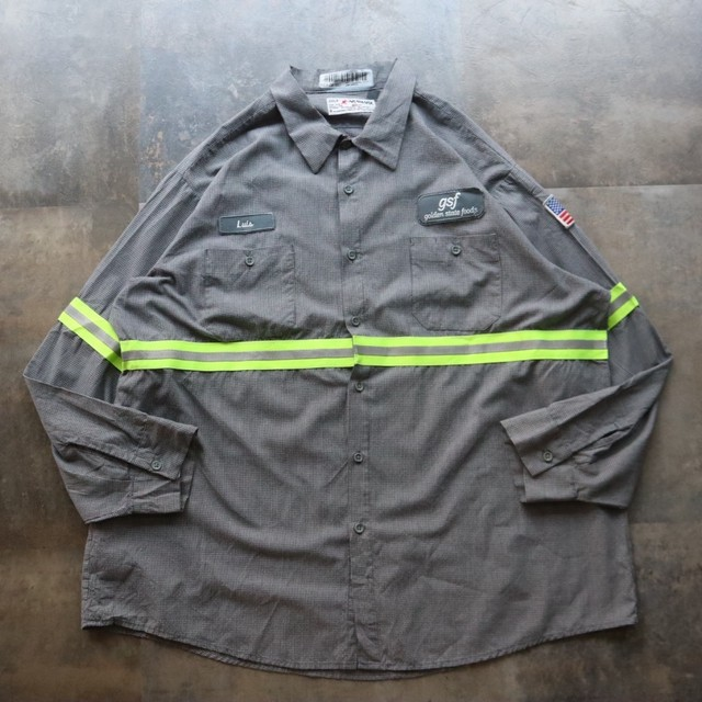 reflector design work shirt