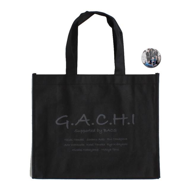【G.A.C.H.I】トートバッグ(缶バッチ付)