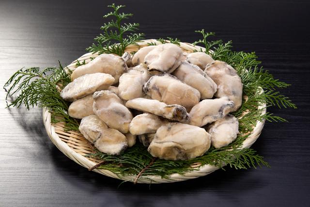 広島産(加熱用)冷凍生カキ  1kg