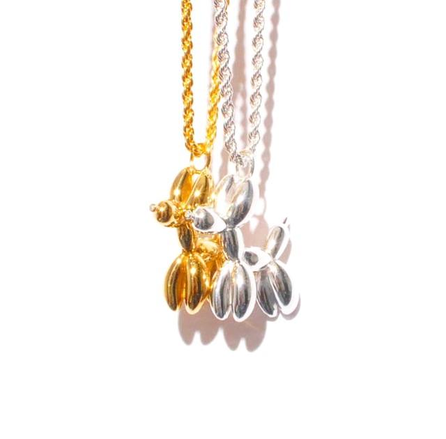 GHOST DIAMOND BALLOON DOGG GOLD
