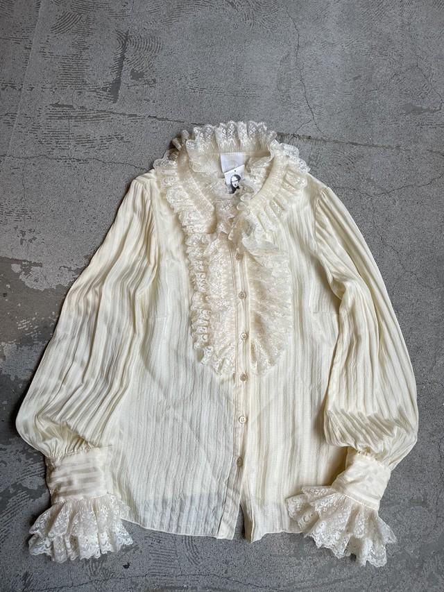 """""""ANNA SUI"""" vintage lace blouse"""