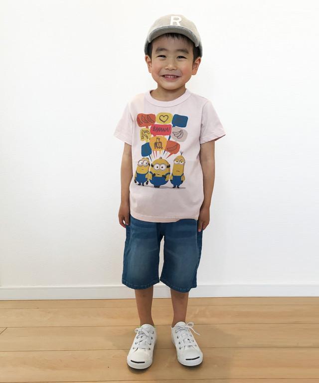 ミニオンズプリント半袖TEE(日本製)