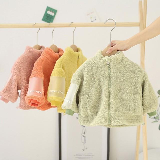 【トップス】ファッション多色スエードスタンドネックアウター24505047