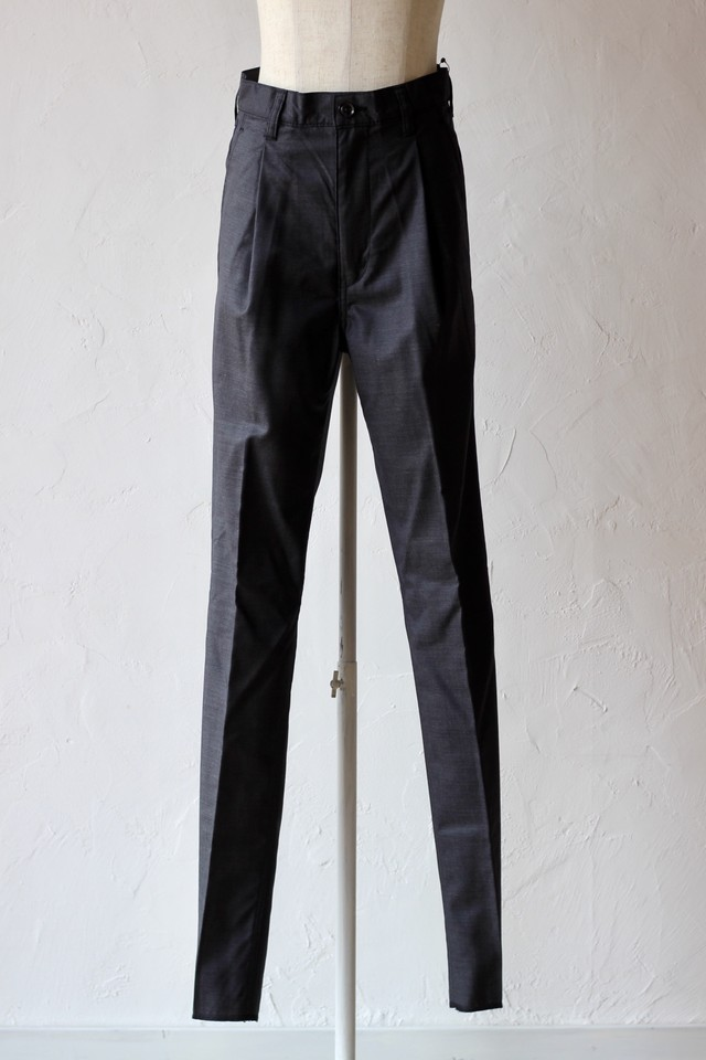 【cantáte】two-tuck trousers