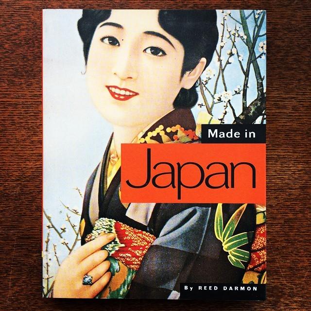 日本のレトロなグラフィックデザインの本「Made in Japan/Reed Darmon」 - メイン画像
