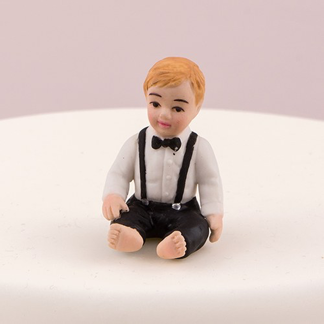 ケーキトッパー【ベビー&キッズ編】★Baby Boy★ (MJ4444)