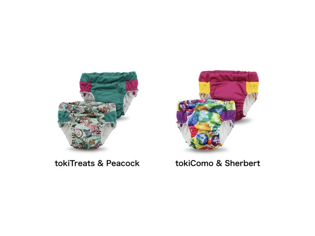 "■kangacare Lil Learnerz Training Pants【designed by ""tokidoki""・Sサイズ】カンガケア リルラーナーズ トレーニングパンツ【tokidoki コラボデザイン・Sサイズ】"