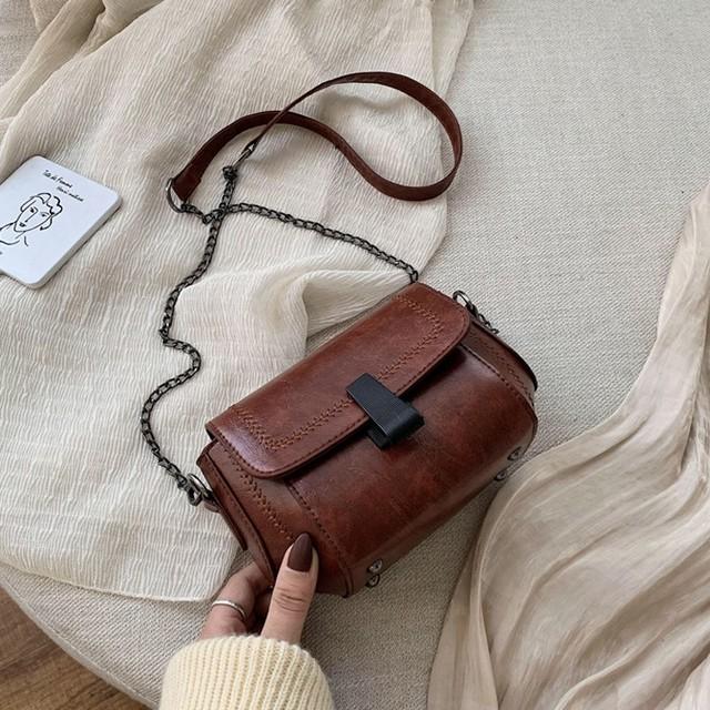 【バッグ】レトロチェーンファッション気質よいレディースボディバッグ33402729