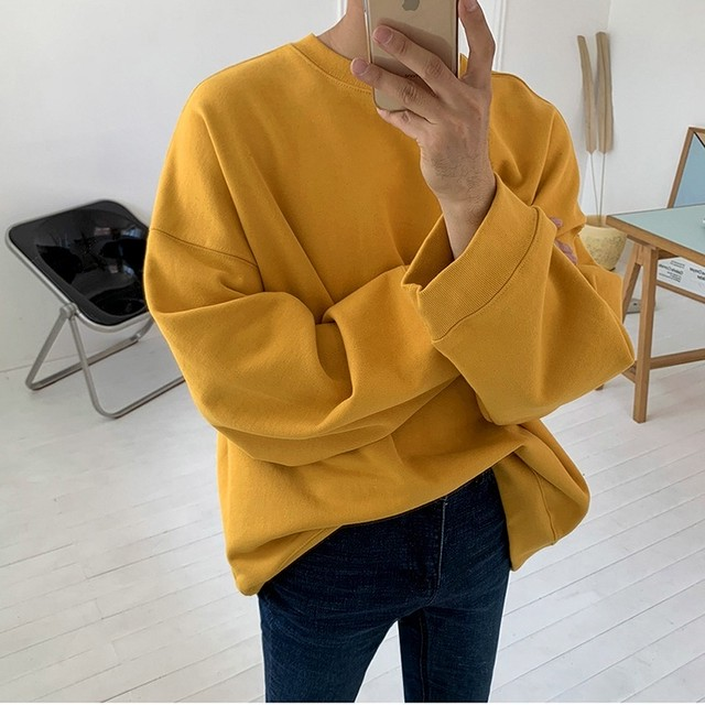 Round neck pullover t-shirt   b-454