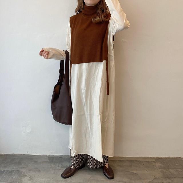 unique knit vest【2012-6】