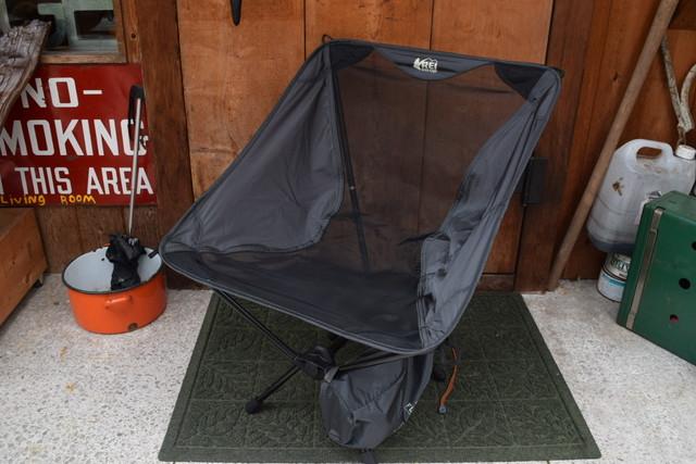新品 日本未発売    REI Flexlite chair ブラック