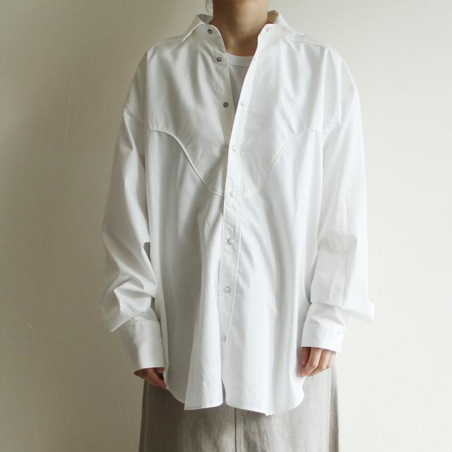 ご予約者様専用  JUN MIKAMI 【 womens 】irish linen tuck-sleeve blouse