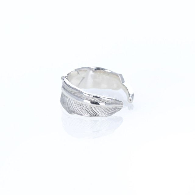 Silver / イヤーカフ (片耳) / Piuma  S/Wide