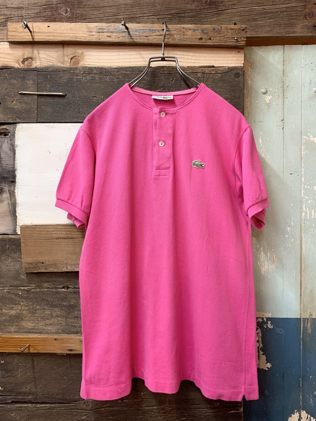 Lacoste remake polo shirt made in france