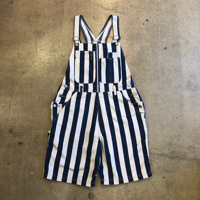 Silver Stripe Shortalls ¥8,600+tax