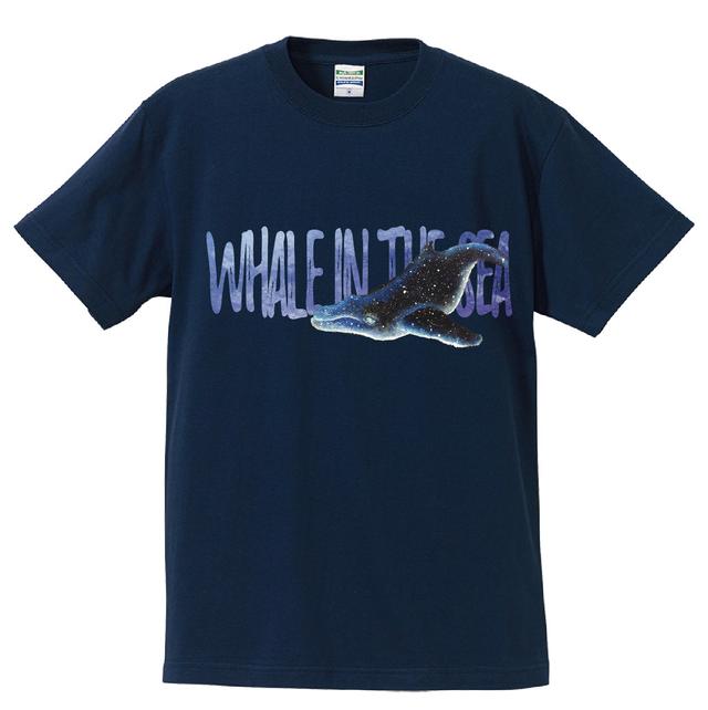 WHALE(クジラ)親子リンクコーデTシャツ タイプC[Wearable Art]