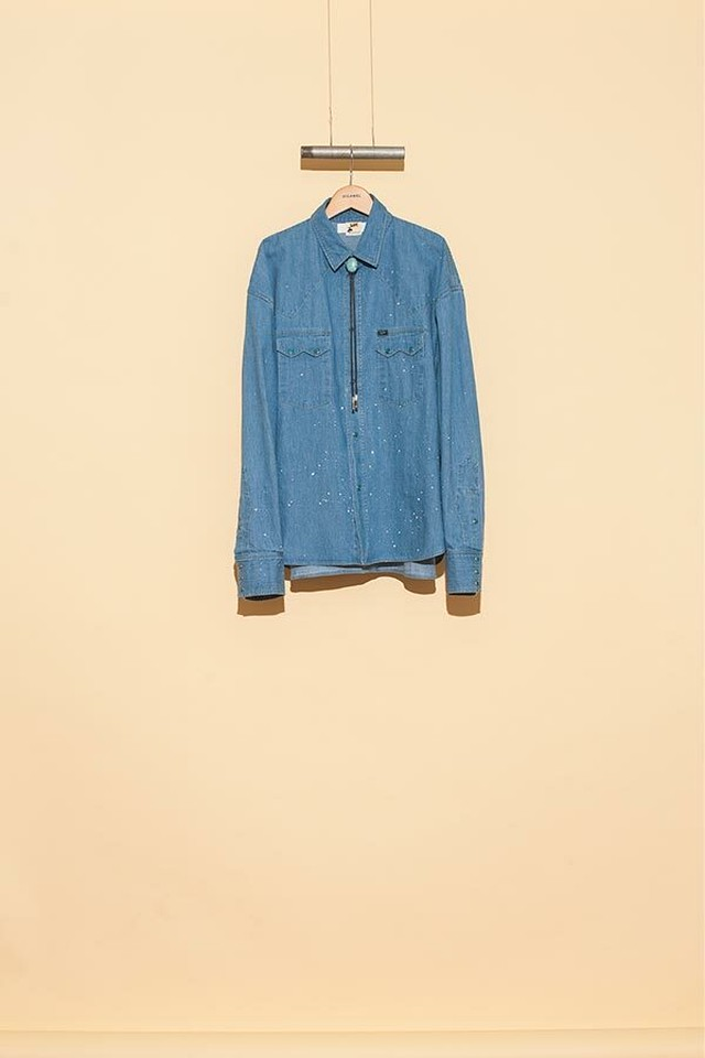 DIGAWEL / WESTERN SHIRT DIGAWEL×Lee(BLUE)