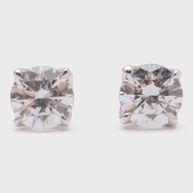 BIJOUPIKO Diamond Pierce Pt950 (ビジュピコ 4点留めダイヤモンドピアス 0.4ct プラチナ950)