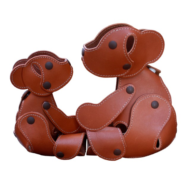 Leather bear m