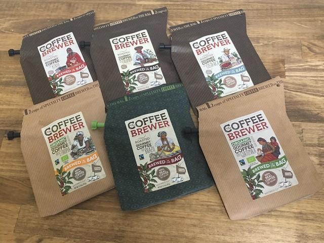 グロワーズカップコーヒー スペシャリティー コーヒー 珈琲 お試し 全6パックセット 送料無料