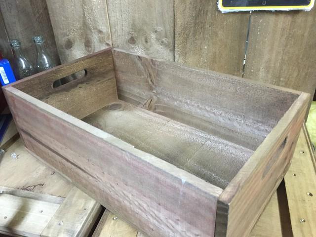 引続きセール主力商品10%OFF! 大容量!50cmウッドボックス 木箱 お部屋のインテリアに!