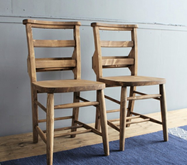 PINE Dining Chair /2Chair Set / カントリースタイル