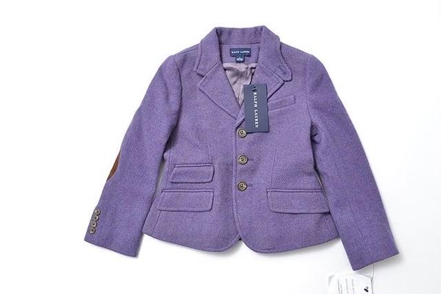 POLO Ralph lauren size120 navy blazer jacket