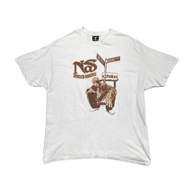 NAS STREETS DISCIPLE TEE HANES FIT LIKE WHITE 2XL 27638