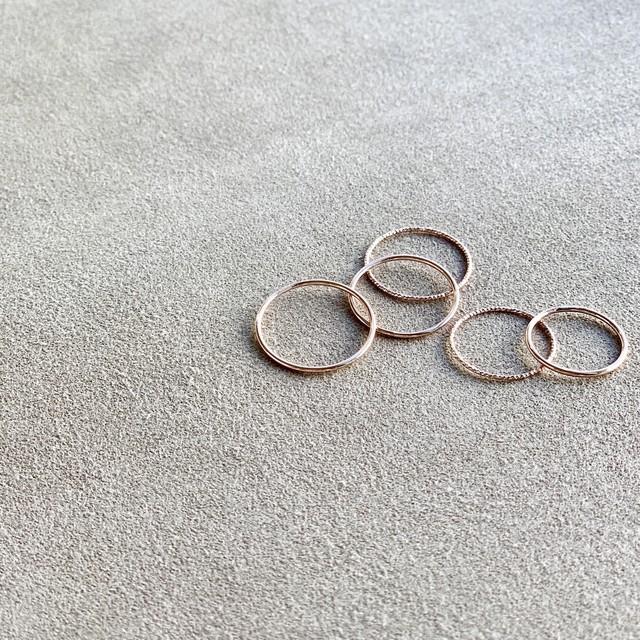 SET Ring_SP0006P<Silver925・pink>