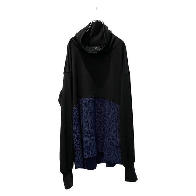 Tneck-PO Short (black/navy)