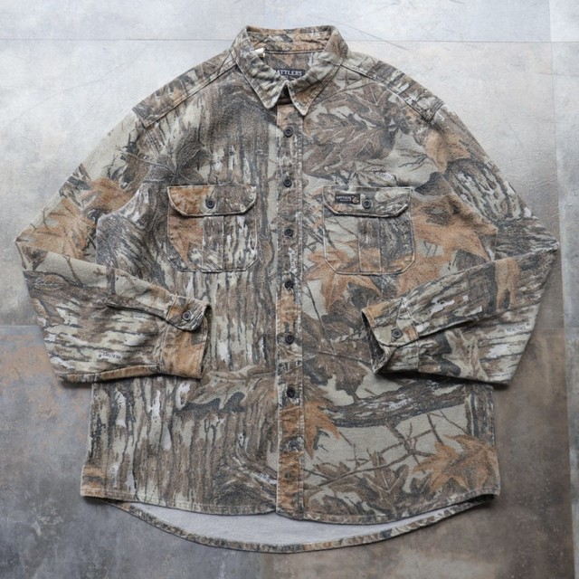 made in USA camouflage shirt