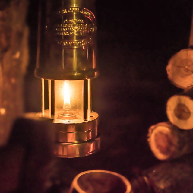 Bush Craft Inc ブッシュクラフト JDバーフォード マイナーズランプ Lサイズ ランプ ランタン キャンプ グッズ アウトドア ハンドメイド 坑夫のランプ