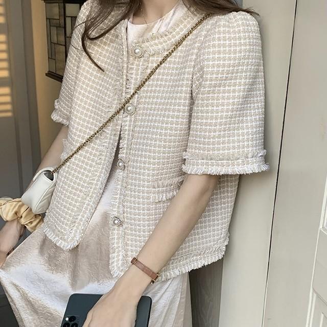 tweed summer jacket 2c's