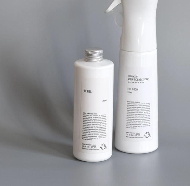 消臭・抗菌芳香剤 詰め替え用/ WILD INCENSE SPRAY REFILL