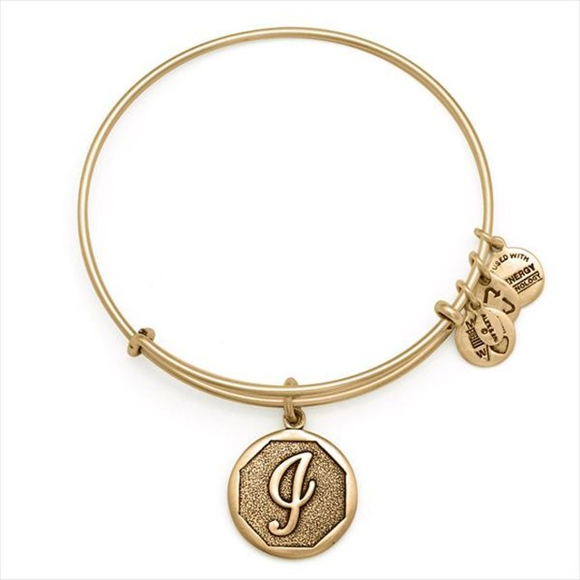 ALEX AND ANI INITIAL EWB - I / Gold
