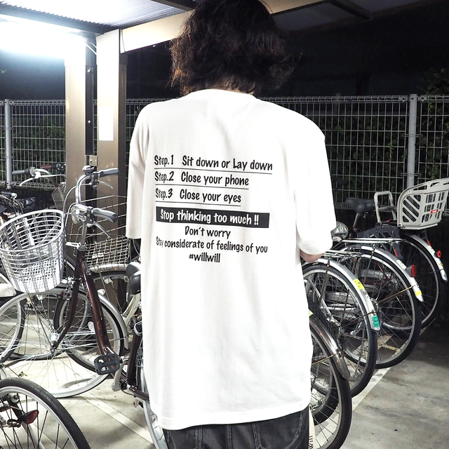 WillxWill Relax T-shirts White