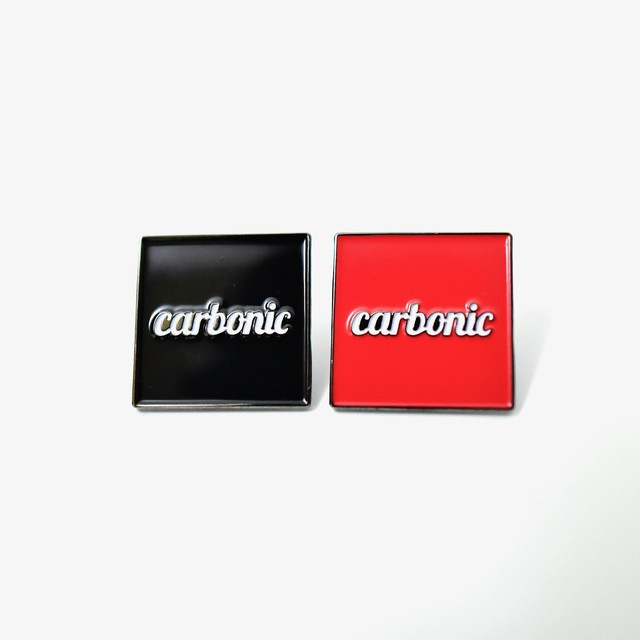 carbonic ICON logo pins