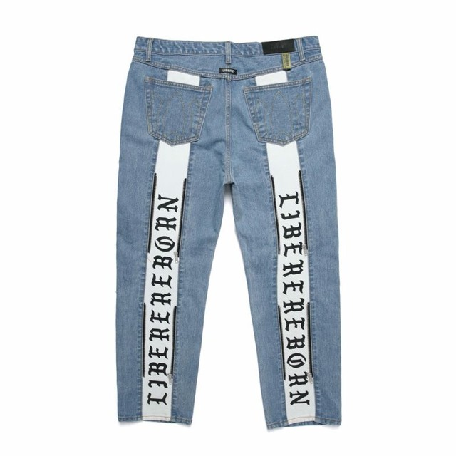 REBORN TWO FACE JEANS / LIGHE BLUE