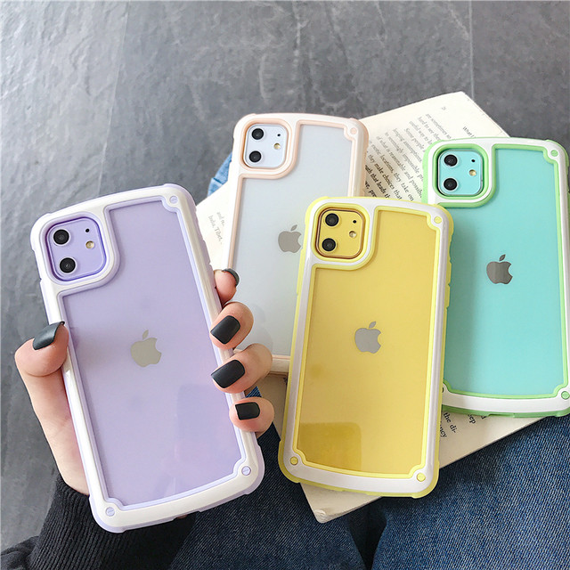 Macaron color iphone case