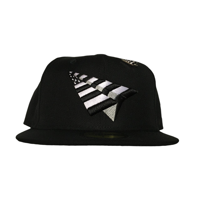 Paper Planes The Original Crown Fitted / Black