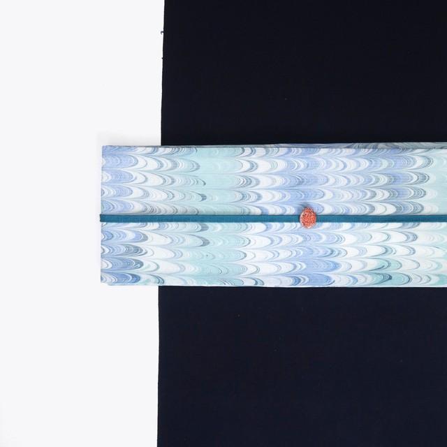 綿 の 半 巾 帯[ 渦 ]