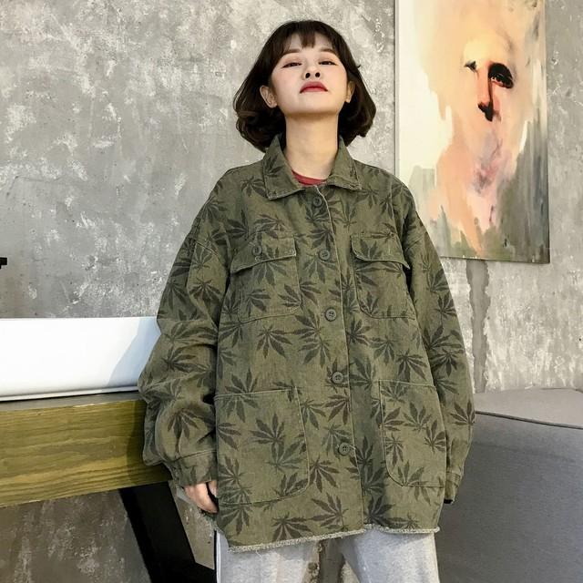 オーバーサイズ デニムシャツ デニムジャケット SHW261501