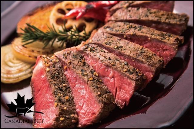 コクのある脂と赤身 サーロインステーキカット【カナダビーフ】500g(約250g×2枚)