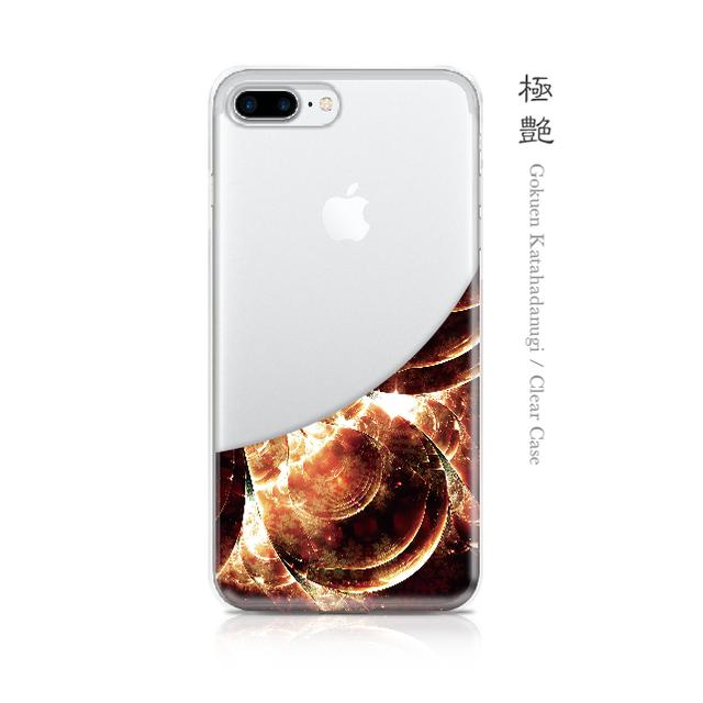 極艶 - 和風 iPhone クリアケース