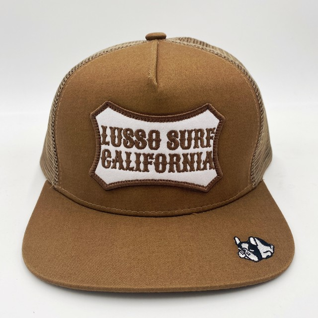 LUSSO DOG California Patch Cap 【Khaki】