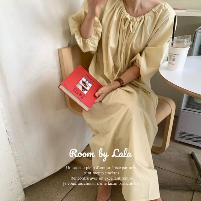 【即納】Relax dress / ドレス /  LE202204