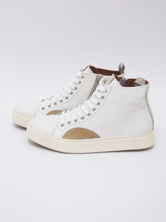 EARLE (アール) CLASSIC LACE UP SNEAKERS / WHITE ER0408-2