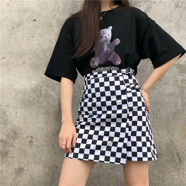 ブロックAラインスカート / HWG209